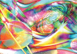 Fotobehang Kleurrijk Abstract