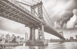 Fotobehang City Love CL04A New York Brooklyn Bridge