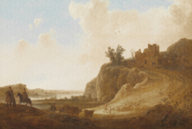 Dutch Painted Memories 8025 Castle ruins Aelbert Cuyp