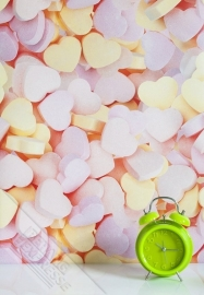 Fotobehang Wallpaper Queen ML229 hearts