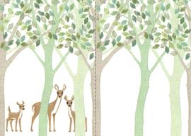 Eijffinger Wallpower Junior 364198XL Deer, Leaf, Tree