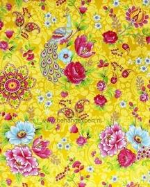 Eijffinger Pip Studio behang 313050 Flowers in the Mix Geel