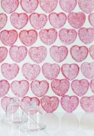 Fotobehang Wallpaper Queen ML227 hearts