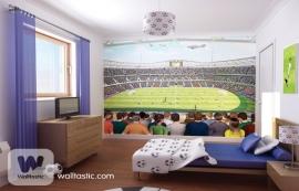 Walltastic posterbehang 41769 Voetbalstadion