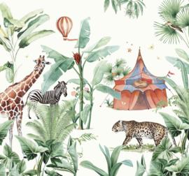 Creative Lab Amsterdam Jungle Circus 300cm x 280cm hoog