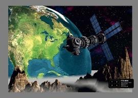 Fotobehang AG Design FTS0094 Earth in Space