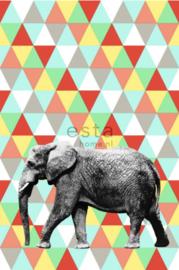 Esta photowall XL2 for kids 158707 Elephant