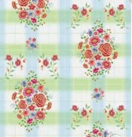 Eijffinger Pip Studio behang  386107 Embroidery Groen