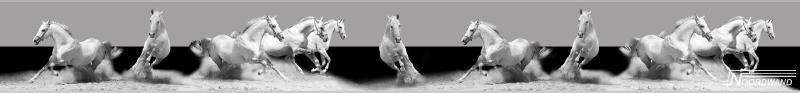 Behangrand Noordwand Farm life 3750029 Horses
