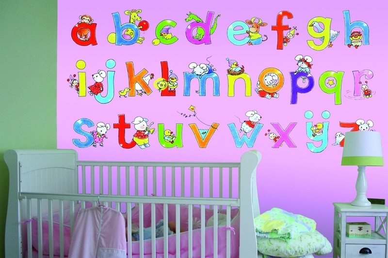 Sweet Collection by Monica Maas - Alphabet Pink art. 5004