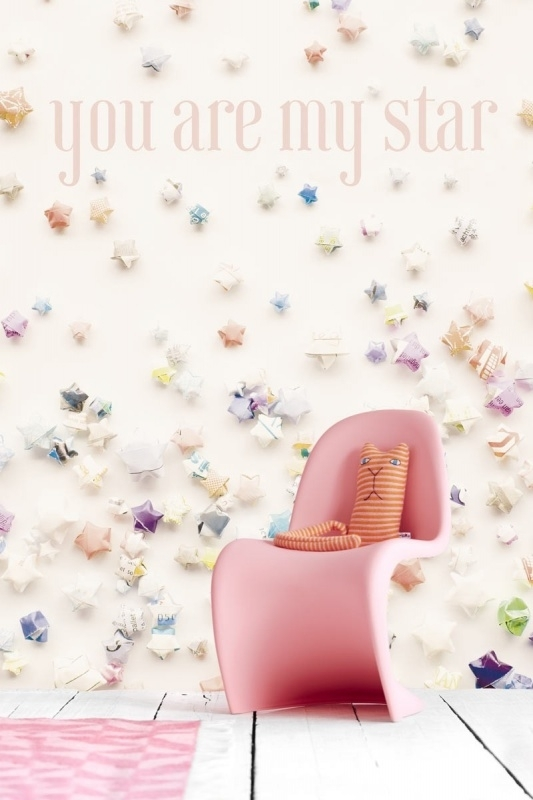 Kinderbehang Eijffinger Tout Petit 354156 You are my star