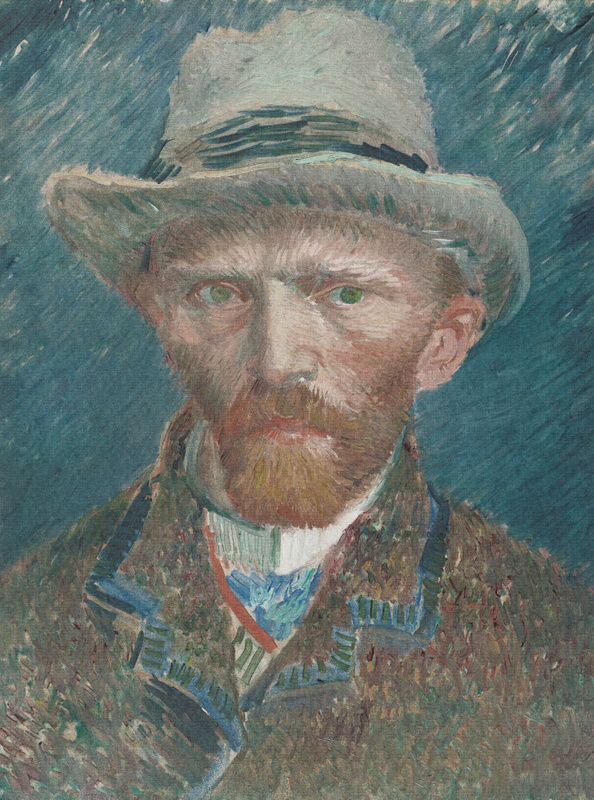 Dutch Painted Memories 8015 Self portrait Vincent van Gogh