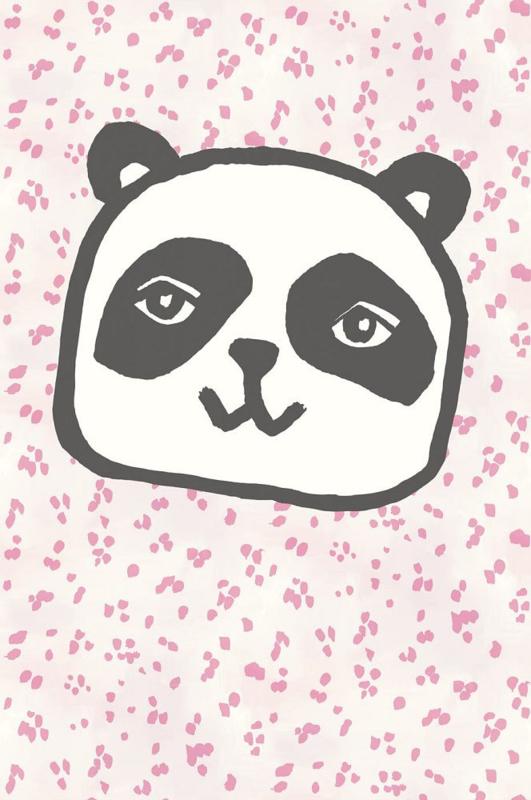 Eijffinger Wallpower Junior 364106 Panda Tiger Pink