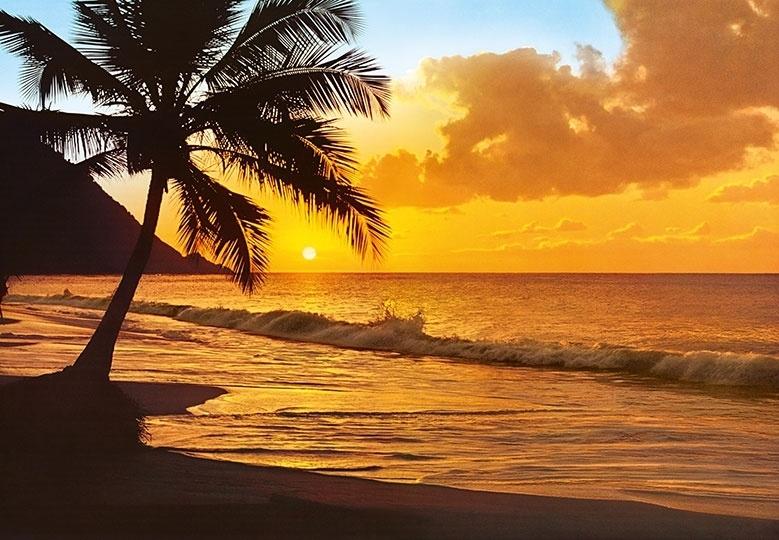 Fotobehang Idealdecor 00218 Pacific Sunset