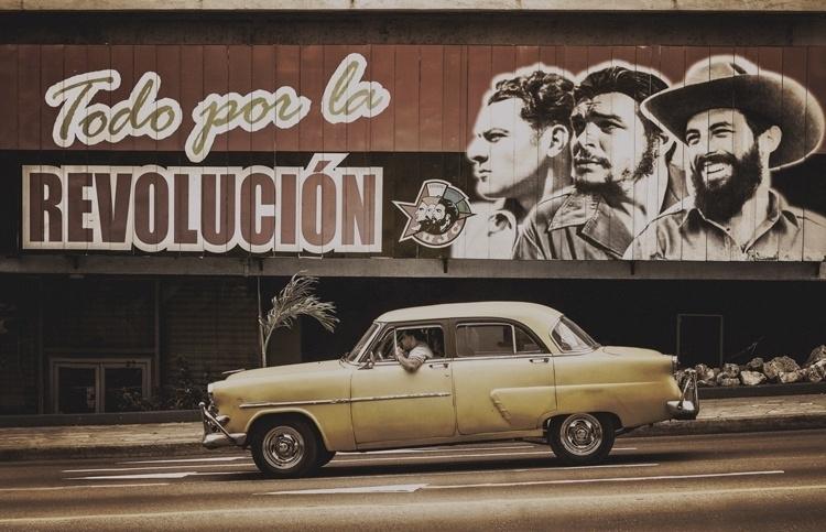 Fotobehang City Love CL68C Havana taxi