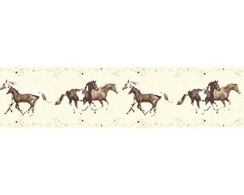 As Creation Little Stars 35838-2 behangrand Paarden