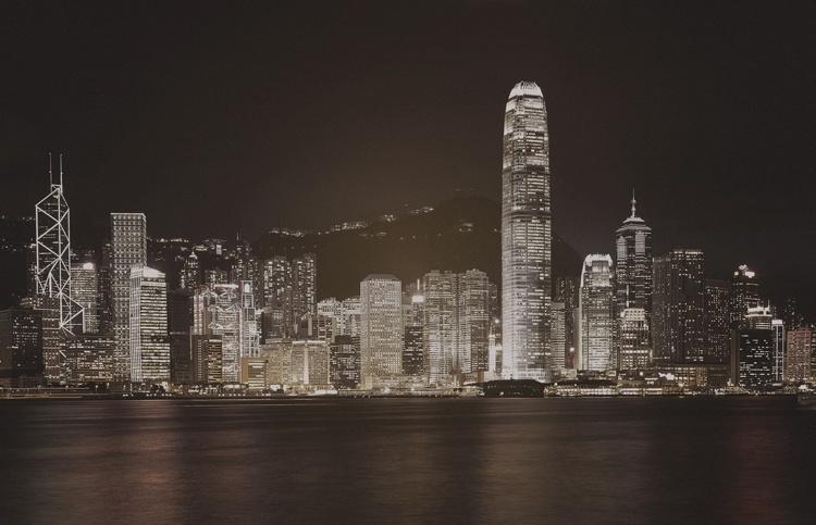 Fotobehang City Love CL63C Hong Kong