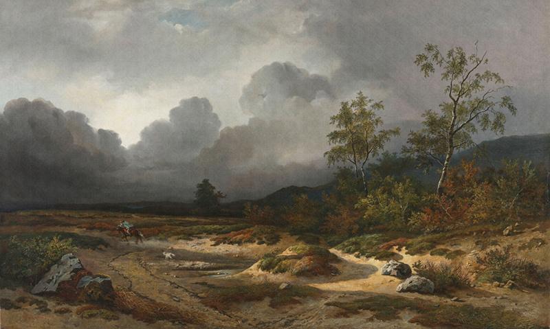 Dutch Painted Memories 8032 Approaching thunderstorm Willem Roelofs