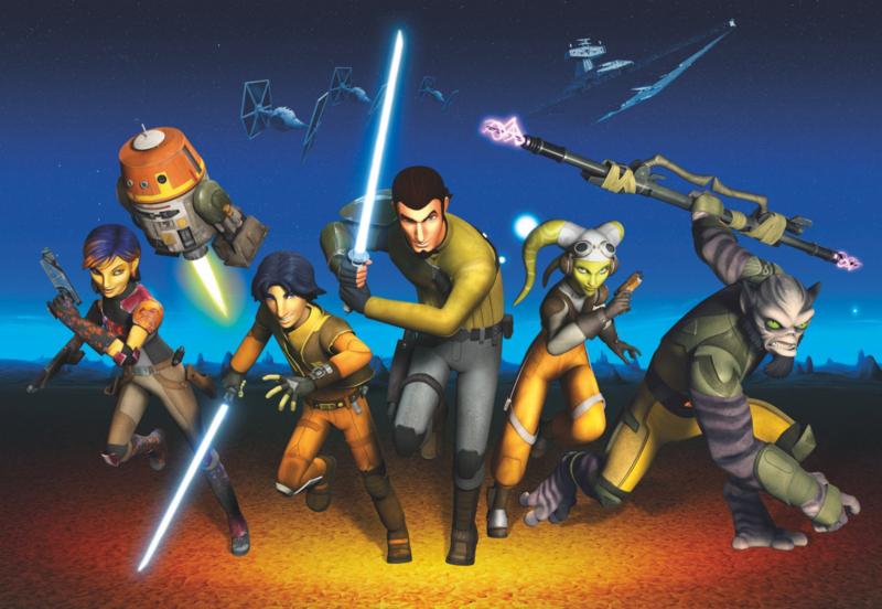 Komar fotobehang 8-486 Star Wars Rebels Run