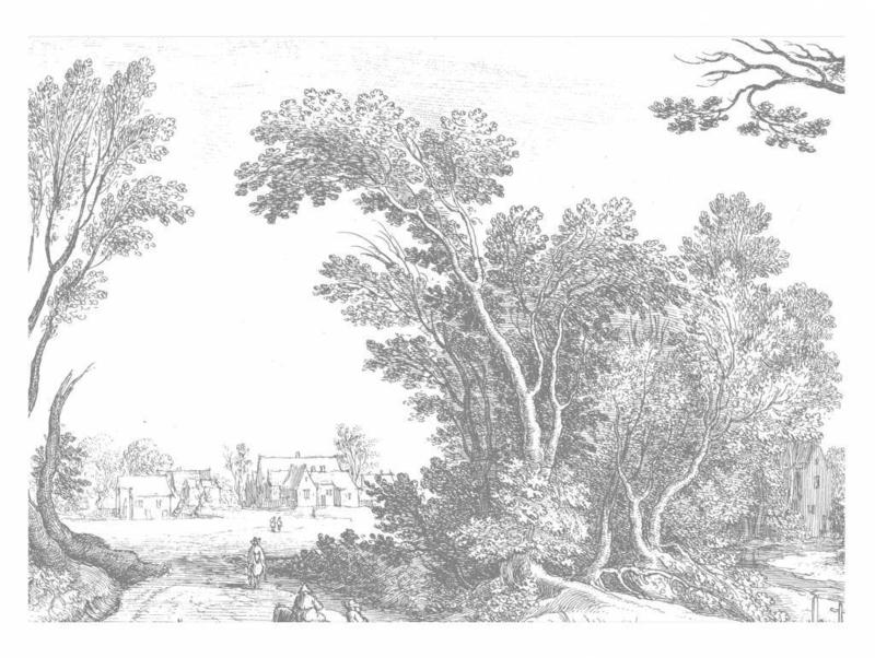Kek Wonderwalls Engraved Landscapes WP-326