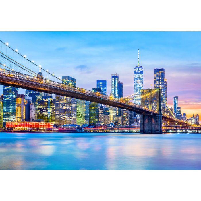 Fotobehang Brooklyn Bridge NYC