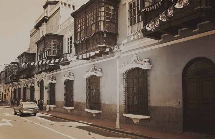 Fotobehang City Love CL58C Lima