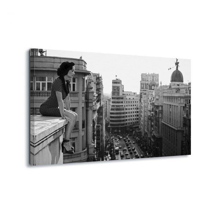 Canvasdoek Mad Madrid by Alejandro Marcos