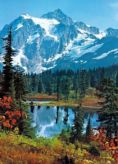 Fotobehang Idealdecor 00307 Mountain Peak