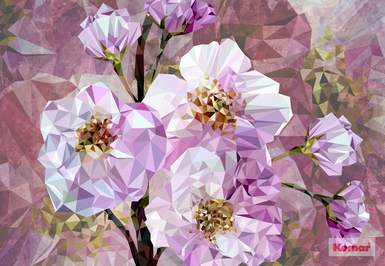 Komar XXL4-064 Blooming Gems