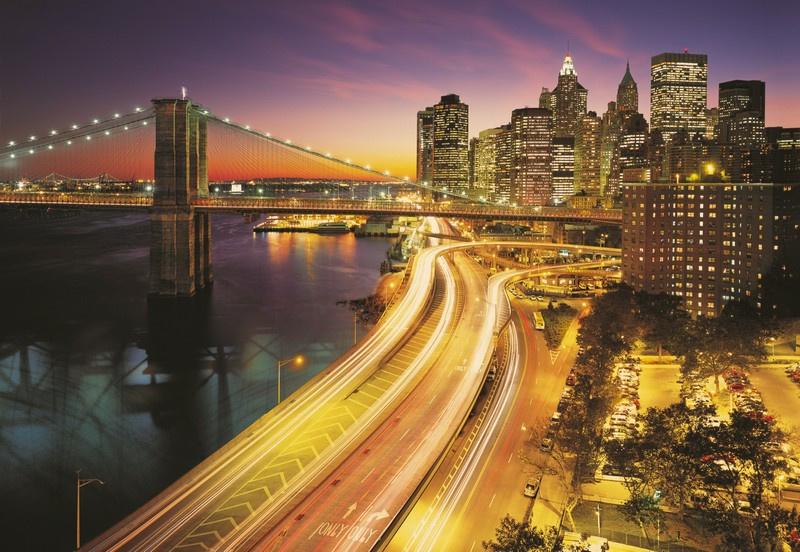 Komar National Geographic 8-516 NYC Lights 368cm x 254cm