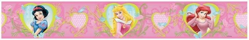 behangrand Disney Princess zelfklevend