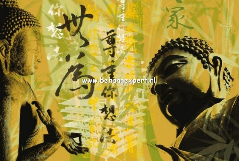 Fotobehang AP Digital 470003 Buddha Glow