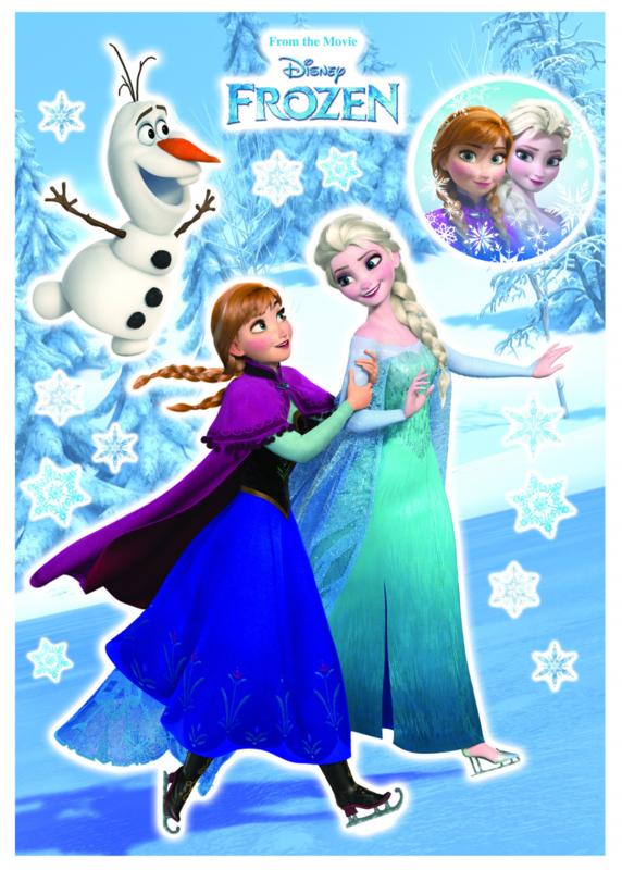 Wandsticker Anna & Elsa 14048
