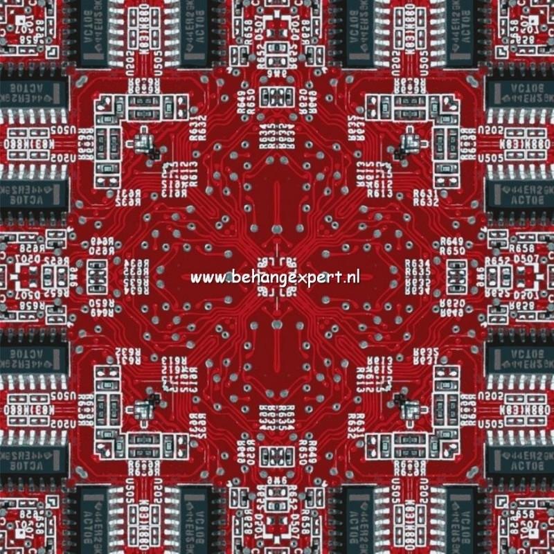 Fotobehang AP Digital 470008 Electric Red