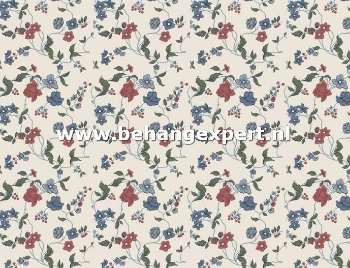 Duro Gammalsvenska 013-02 bloem behang