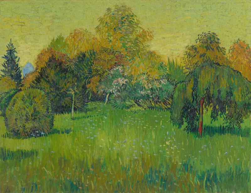 Dutch Painted Memories 8084 The poet's garden