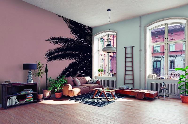 Fotowand Palm tree by Monica Strigel afm. 400cm x 270cm hoog