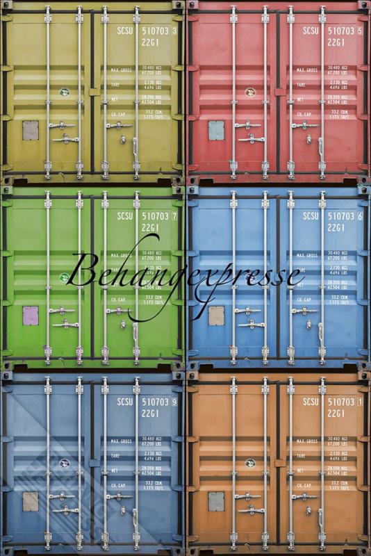 Fotobehang ColorChoc INK 6051 Zeecontainers