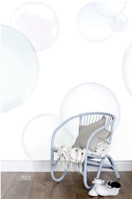 Esta photowall XL2 for kids  158859 Bubbles