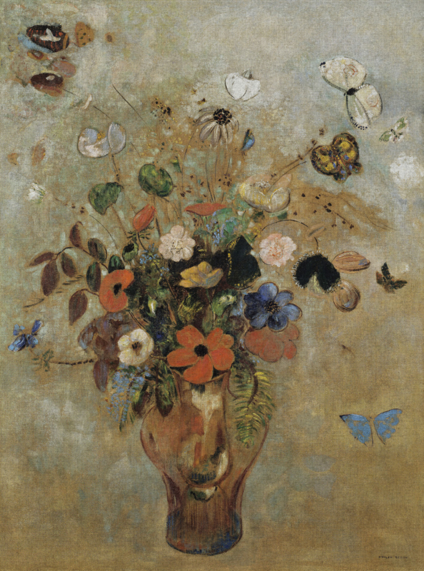 Dutch Painted Memories 8067 Still life with Flowers V
