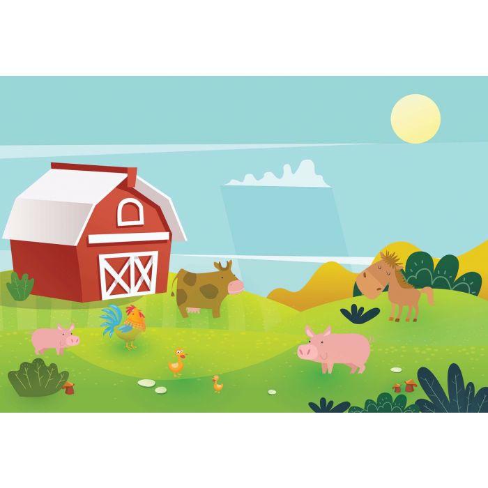 Fotobehang Farmyard Friends