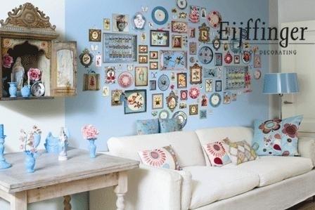 Eijffinger Pip Studio behang  386102 Memories Blauw