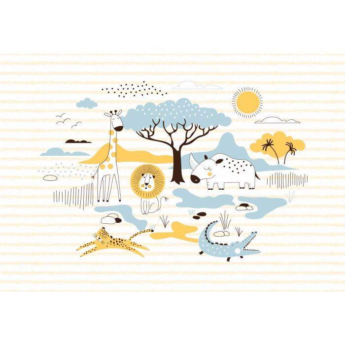 Fotobehang Safari Friends