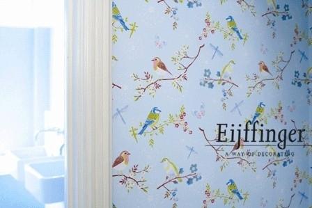 Eijffinger Pip Studio behang  386011 Early Bird Blauw