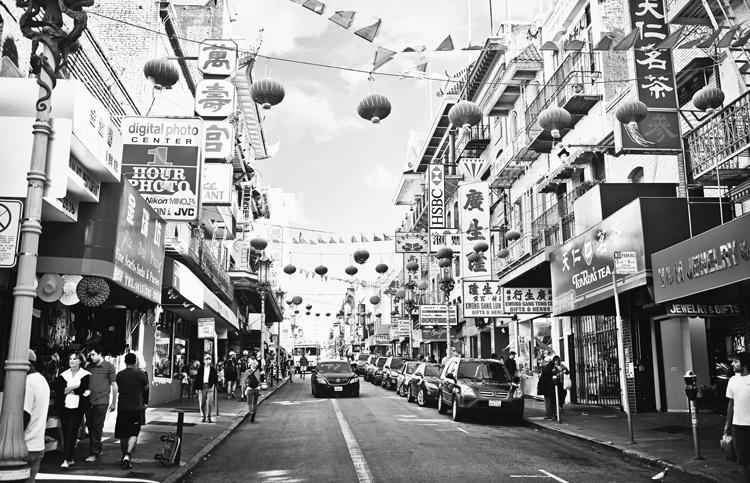 Fotobehang City Love CL26B Street of San Francisco
