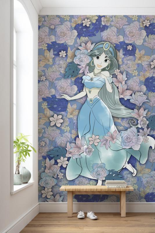 Komar fotobehang DX4-079 Jasmin Colored Flowers