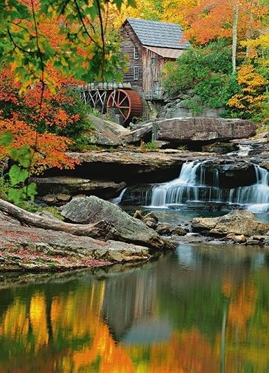 Fotobehang Idealdecor 00437 Grist Mill
