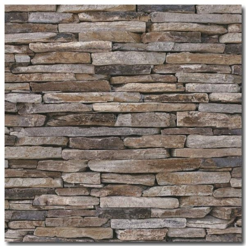 AS Creation Wood `n Stone 9142-17 Lei baksteen behang