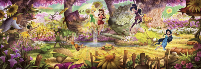 Komar fotobehang 4-416 Fairies Forest