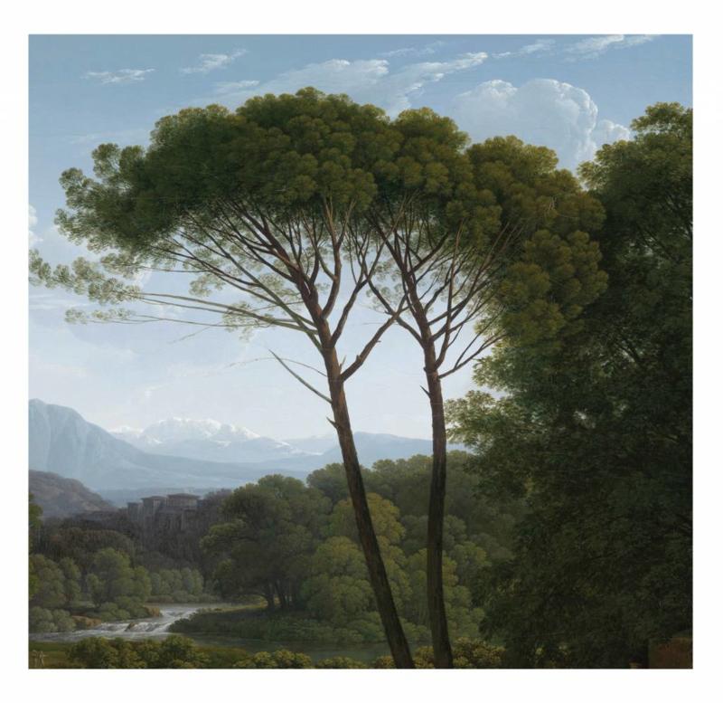 Kek Wonderwalls Golden Landscapes WP-385